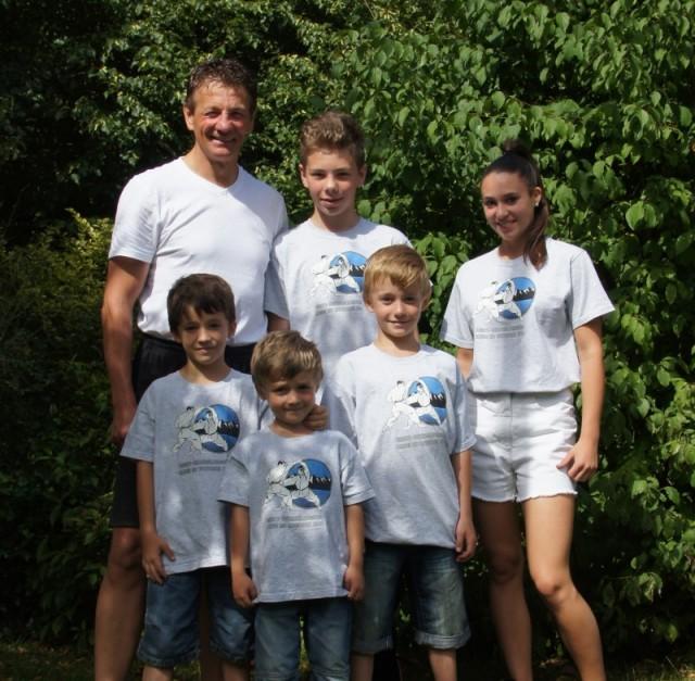 Foto Teilnehmer Karate Sommerlehrgang am Ammersee
